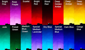Gel Filter Colors